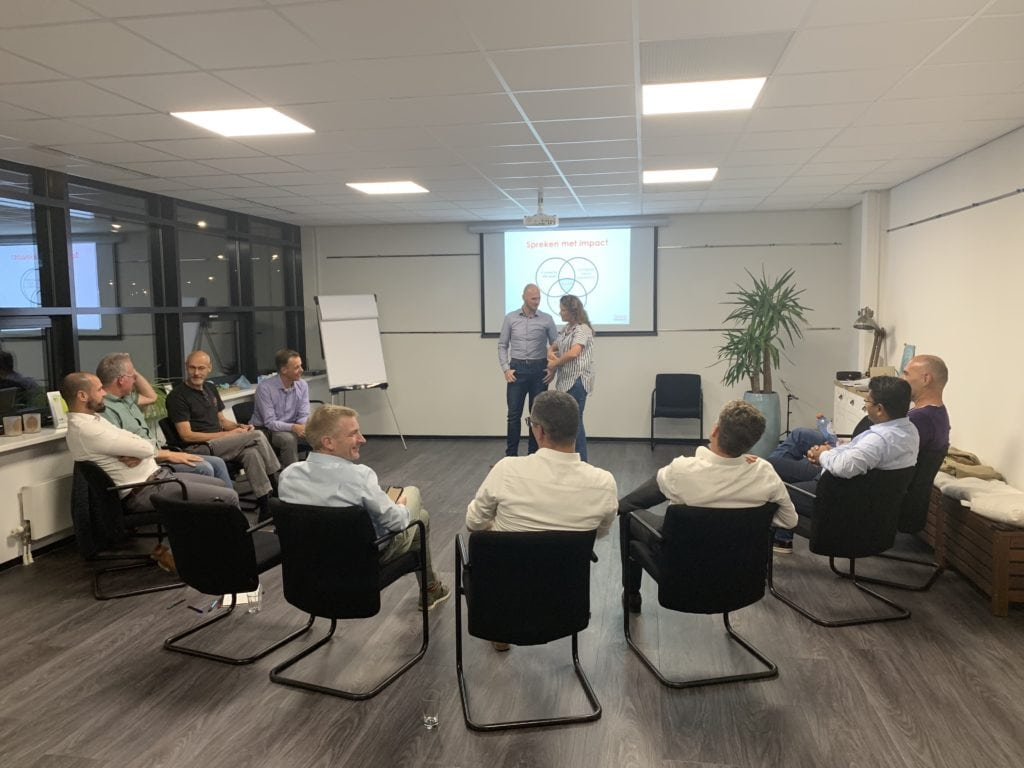 workshop verbeteren presenatie skills bij fortezza