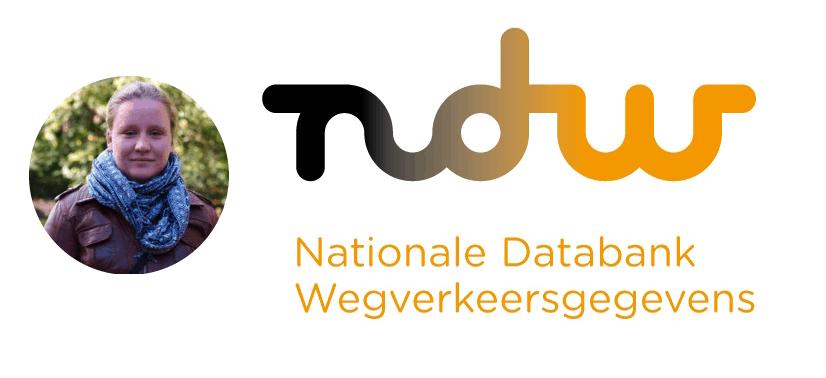 Afbeelding van Marleine die bij Fortezza werkt en het logo van NDW